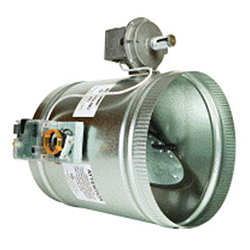 Electric Bypass Damper - Round