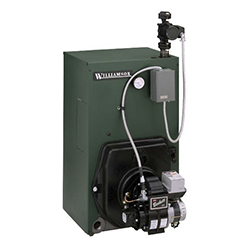 Oil Water Less Burner with Tankless Heater