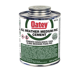 Oatey All Weather PVC Cement