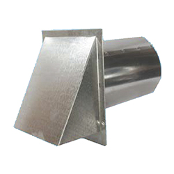 Galvanized Hooded Wall Vent Screen