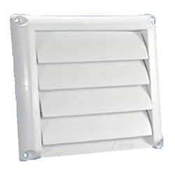 Plastic Wall Vent with Movable Louvers